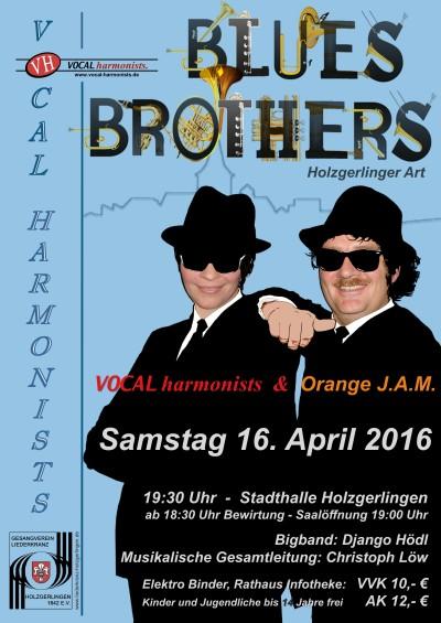 Bluesbrothers Konzert 16.4.2016